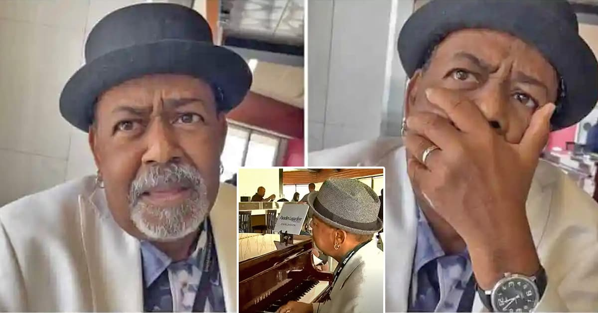 An airport piano player earned $60K in tips after influencer shared videos of him on Instagram - my positive outlooks