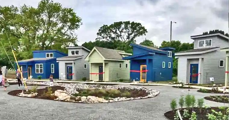 This community of tiny homes built for the medically vulnerable homeless isthe 'first of its kind' - my positive outlooks