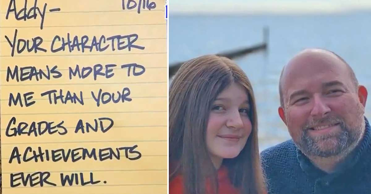 Dad writes 690 inspiring lunch notes to bullied daughter to ease her anxiety at school - my positive outlooks