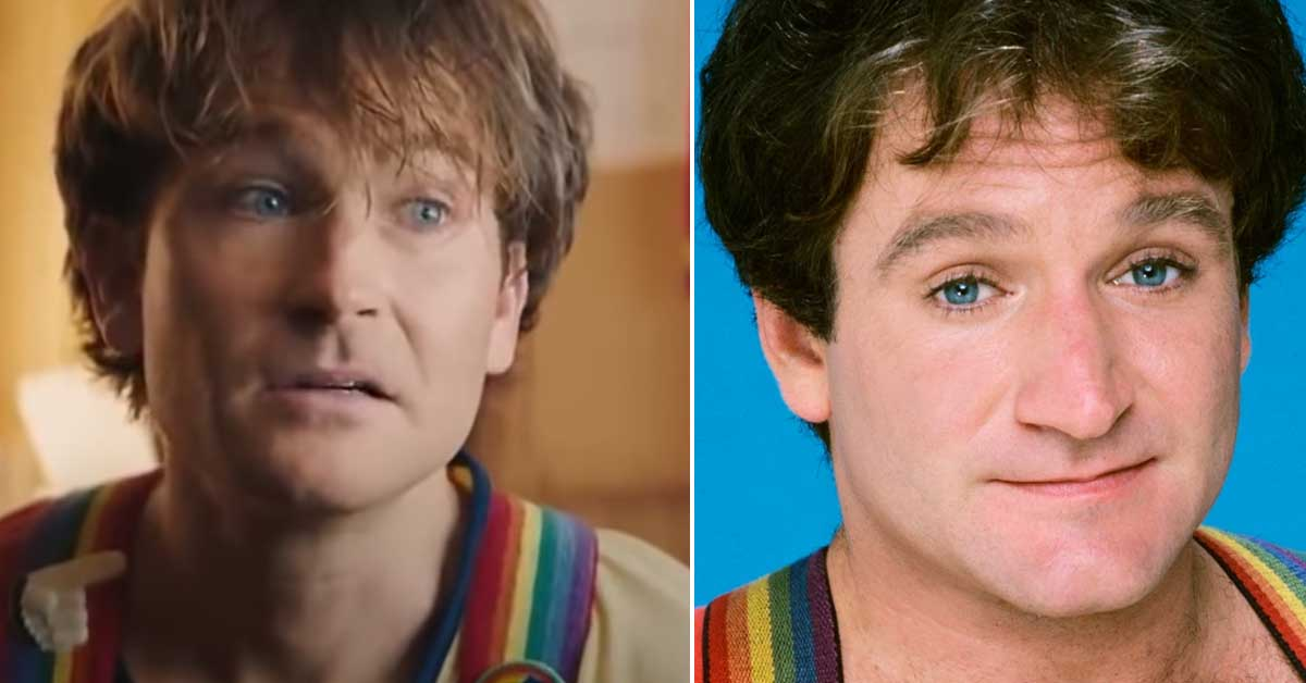 Robin Williams impersonator's perfect portrayal of the late actor in short film has fans asking for a biopic - my positive outlooks